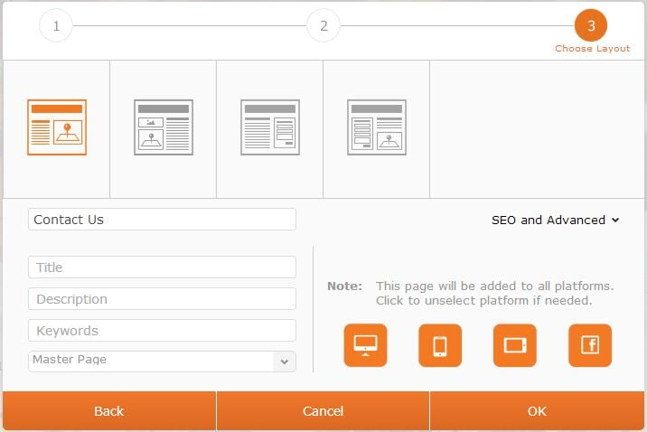 new page seo and advanced