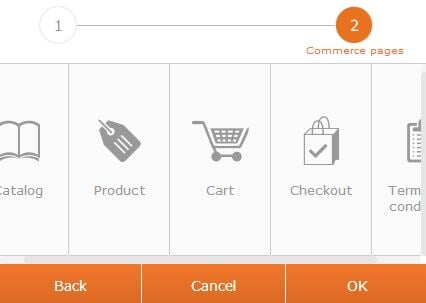 commerce pages