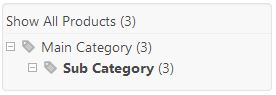 show products in category