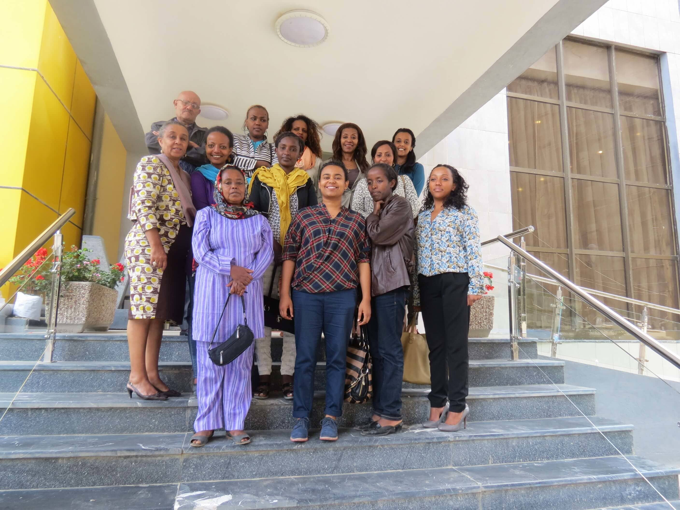 Group picture of training participants