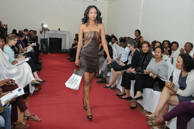 Leather Exotica showing Capsule Collection at 2nd International Women Entrepreneurs Day 2015 in Addis Ababa, Ethiopia