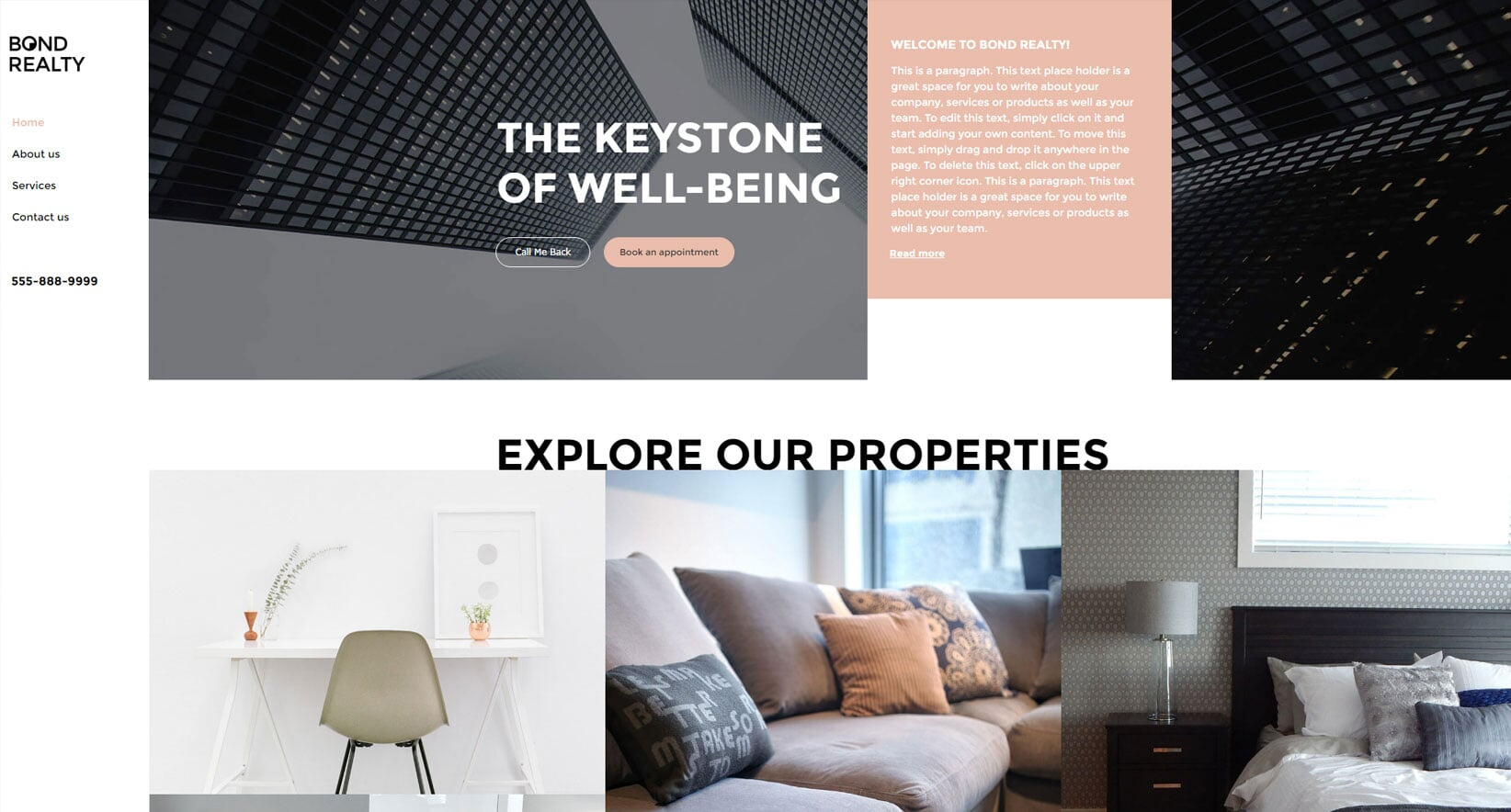 Bond realty - Template