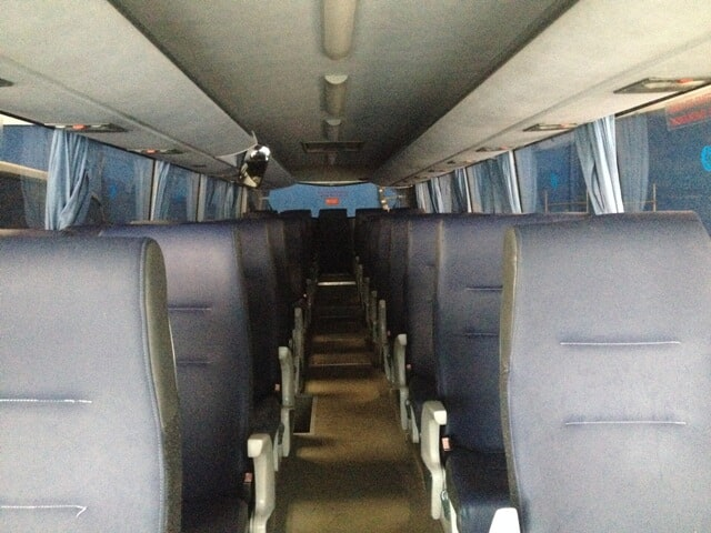 Interior Autocarro