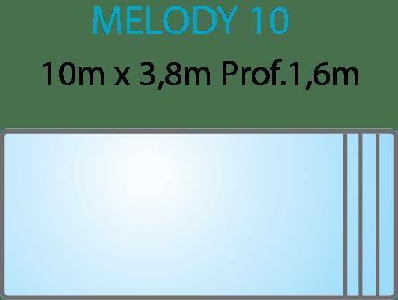 Piscina Melody 10