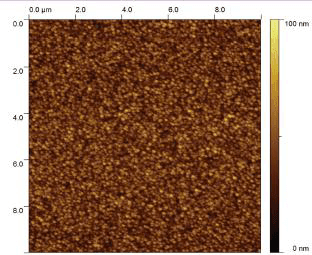 Atomic Force Microscope (AFM) image