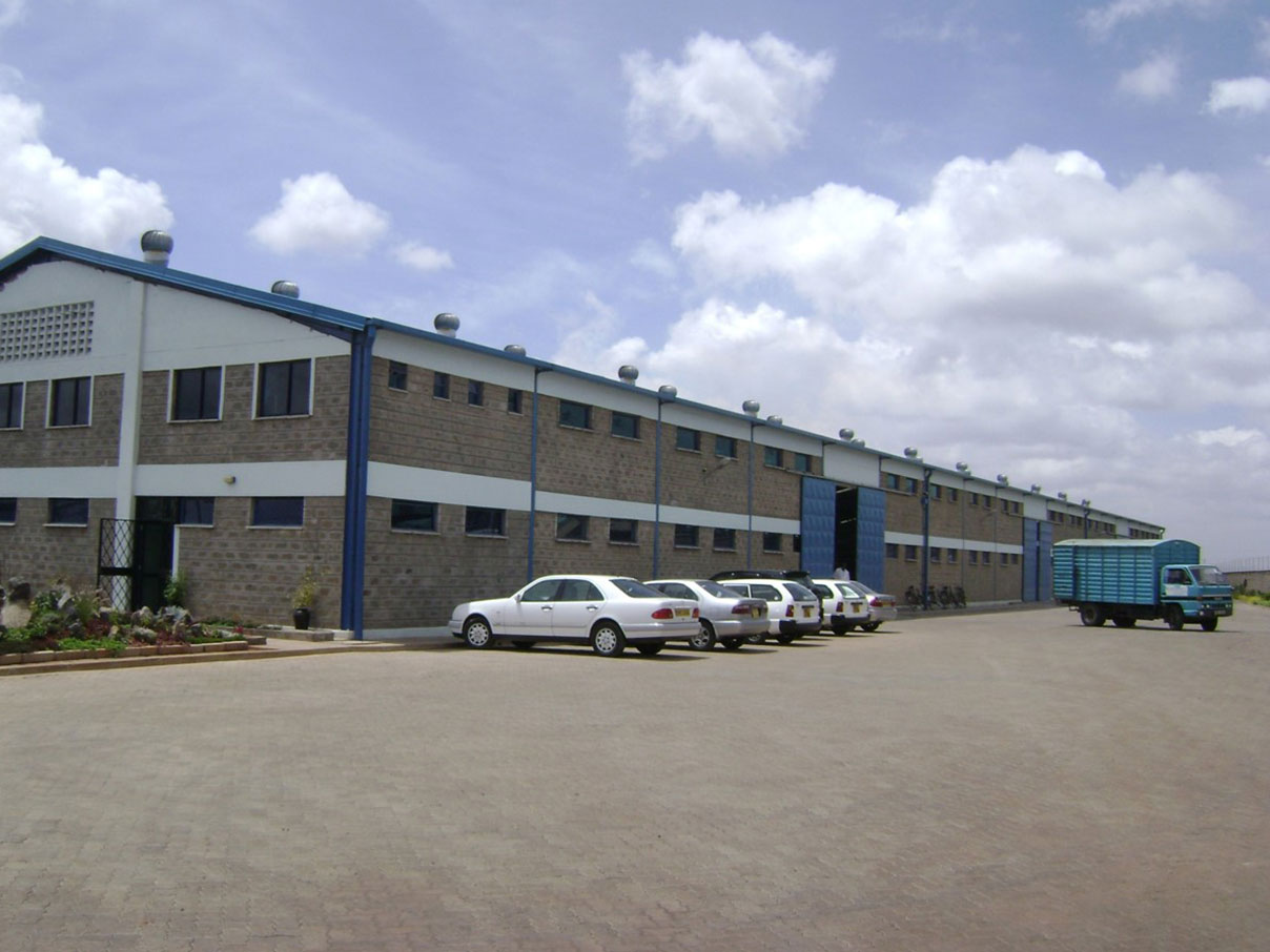 Factory for Prime Cartons ltd, Nairobi