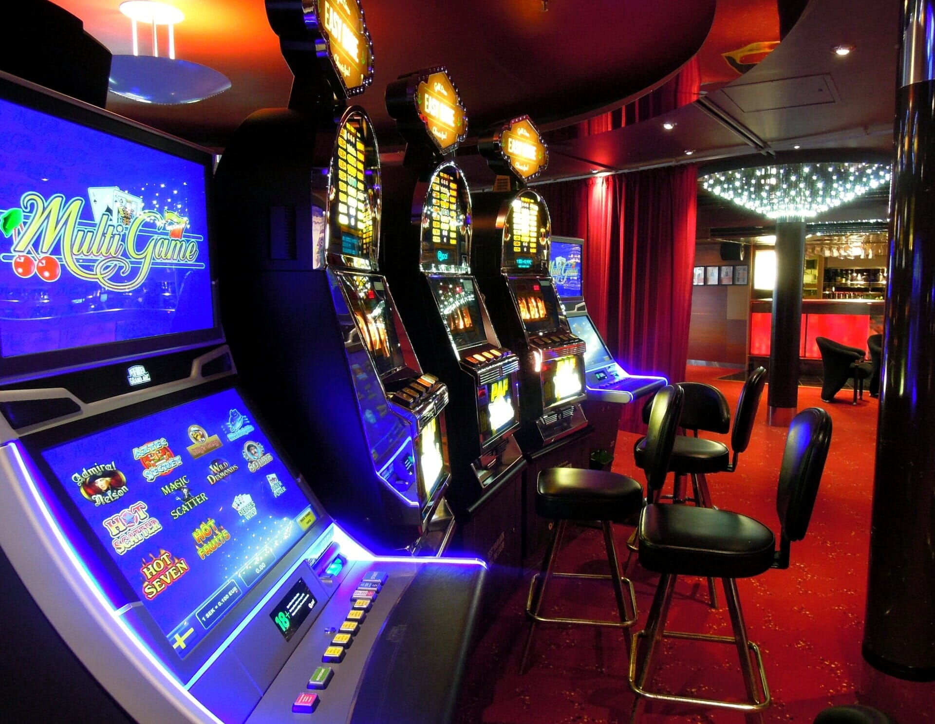 Arredamento per sale slot machine Milano