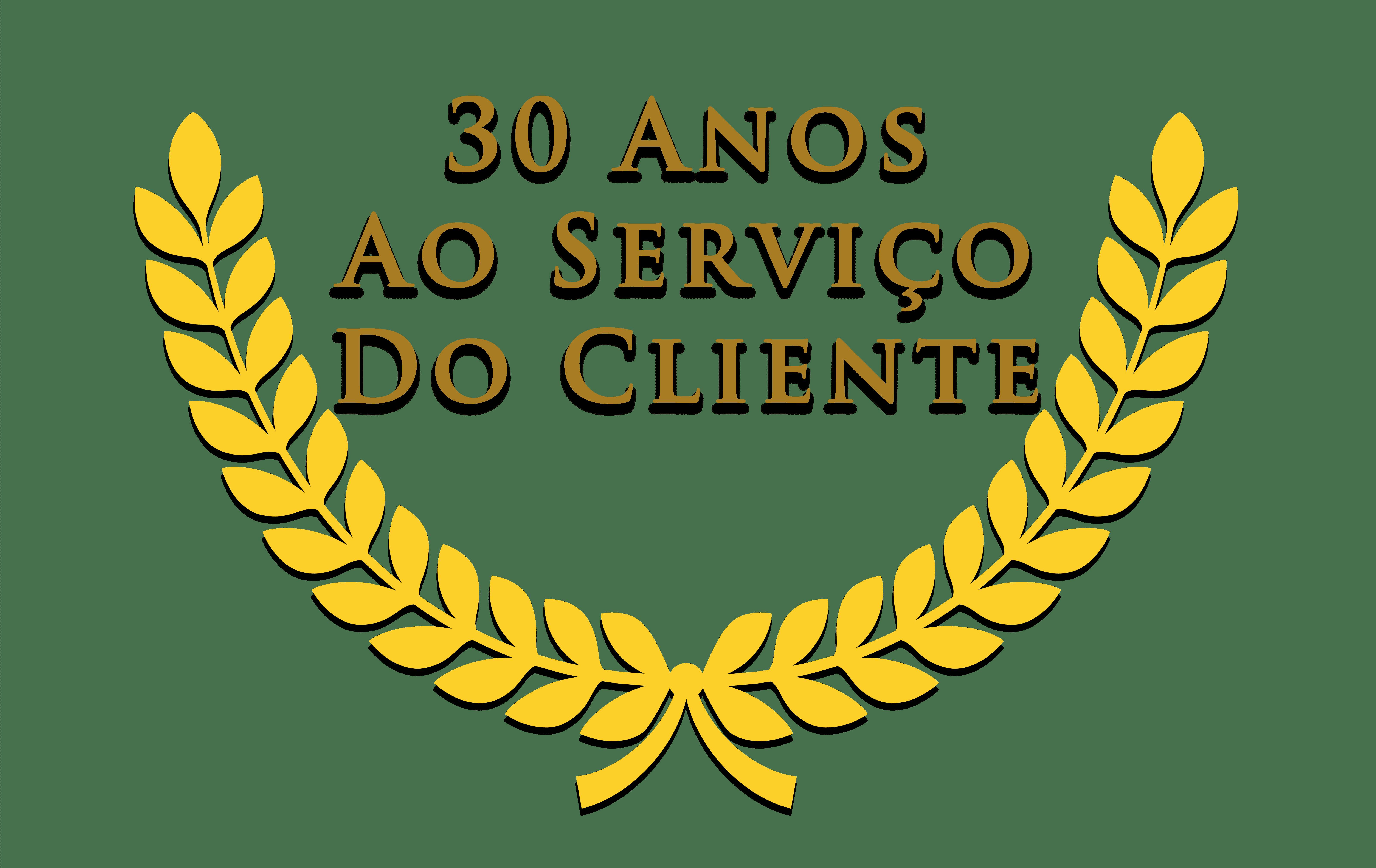 30 anos de serviço