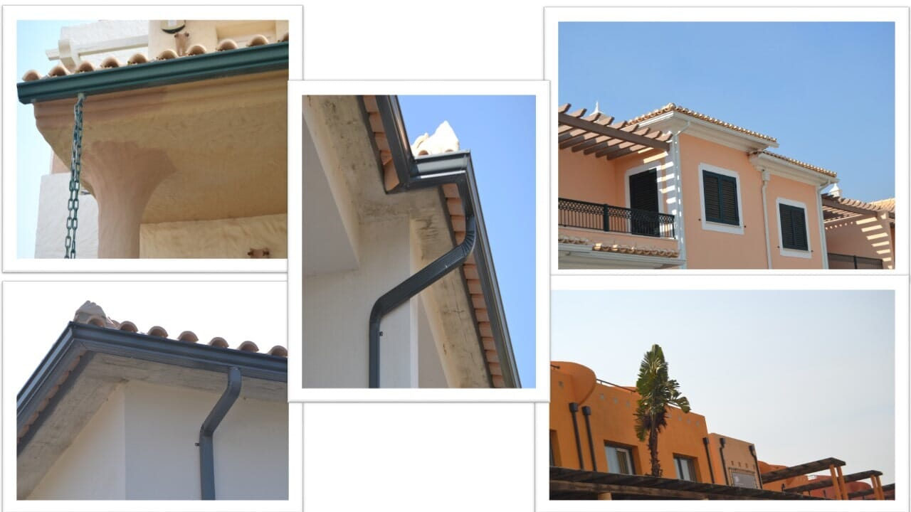 Made-to-measure Guttering