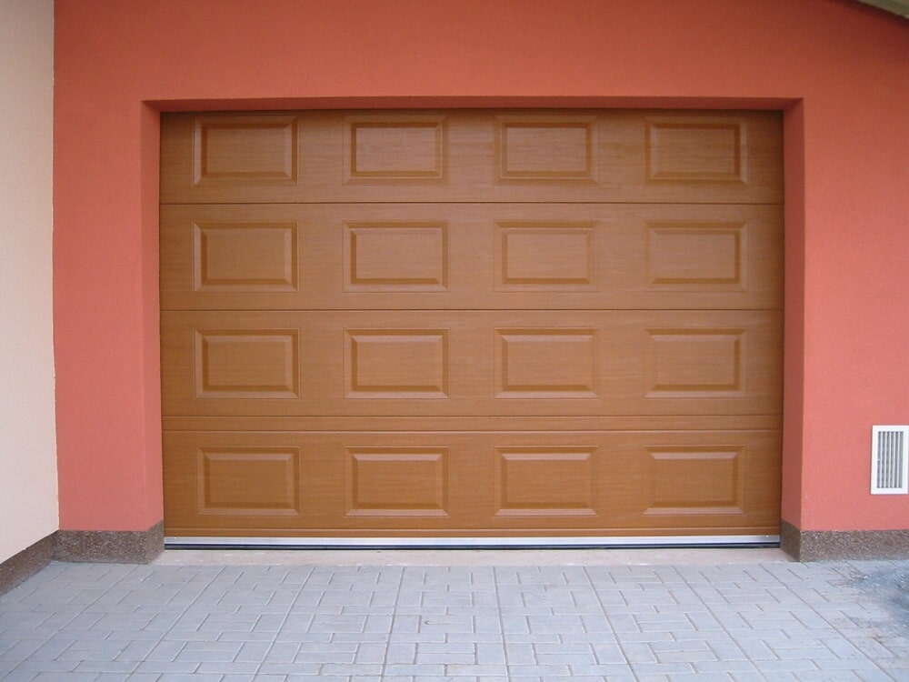 Vrata garážová sekční 14