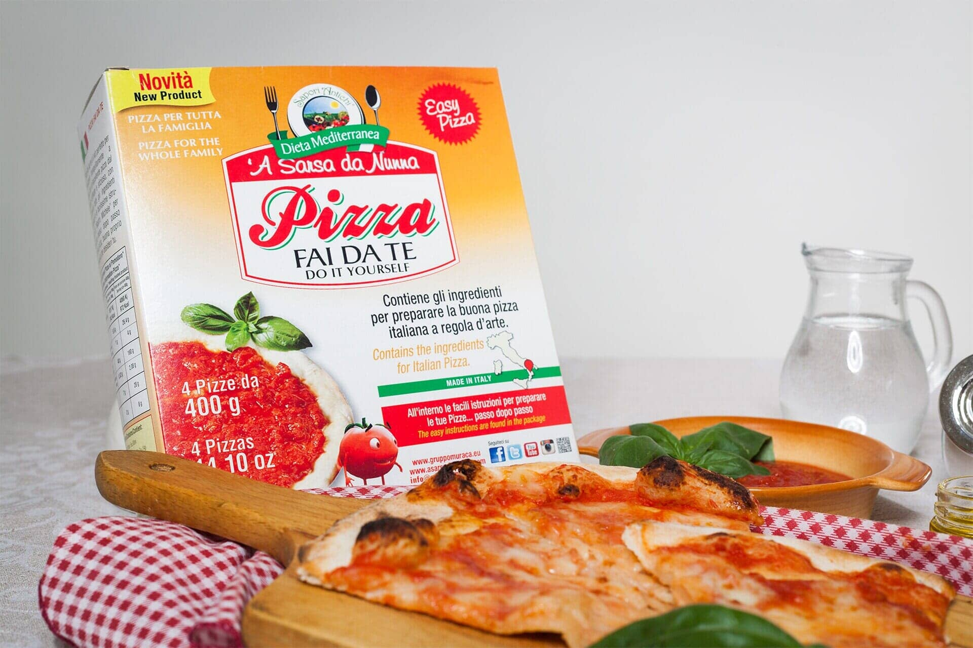 kit for pizza at home