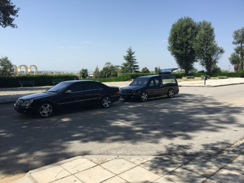 Vehicles by PACHOUMIS Funeral Home in Thessaloniki