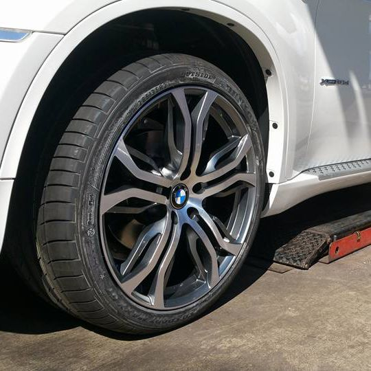 BMW alloy rim