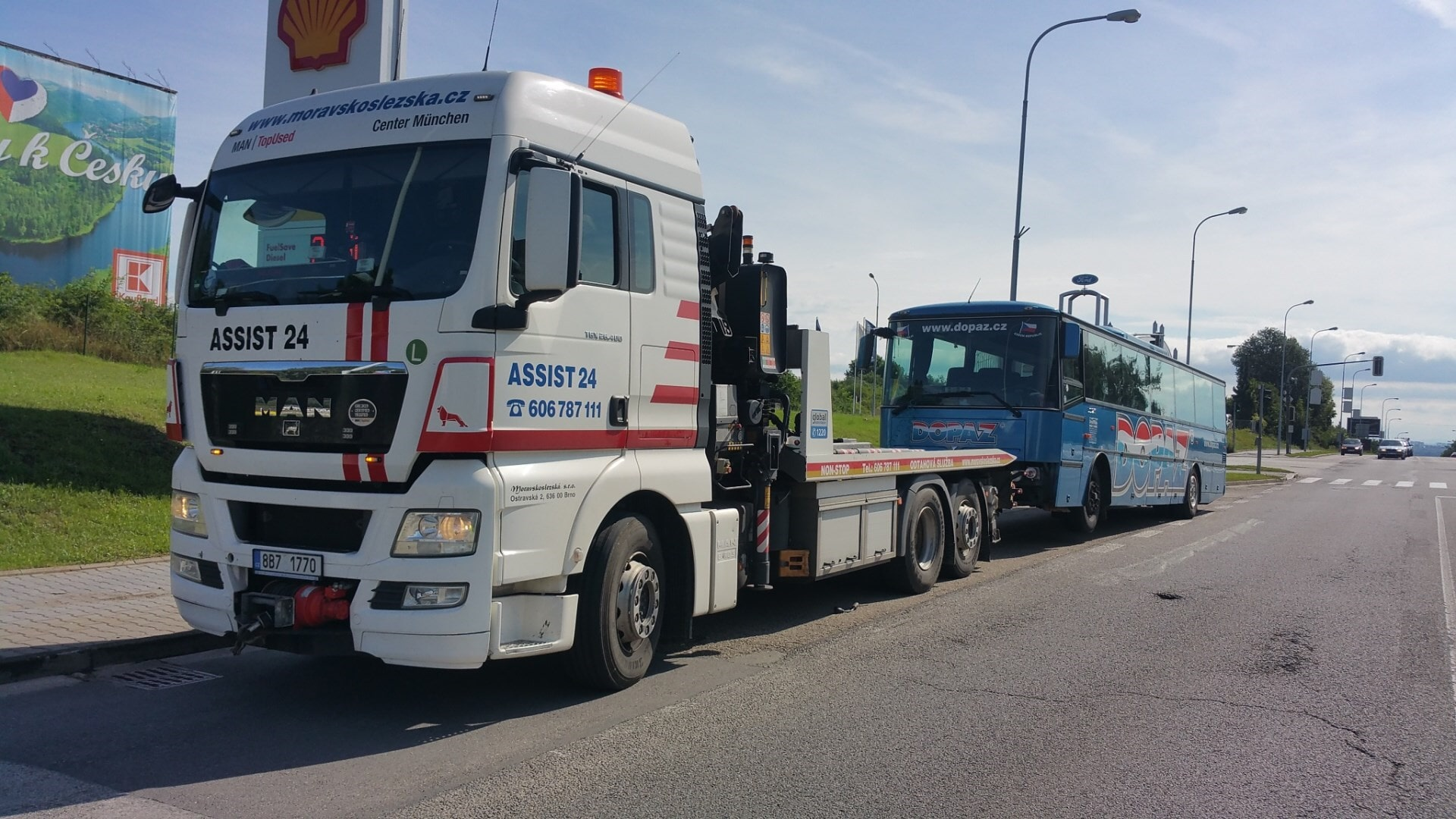 Odtahová služba Brno - ASSIST 24