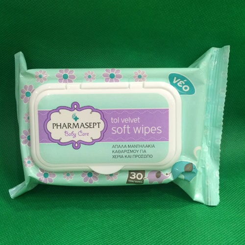 Pharmasept Soft Wipes Τιμή: 4,90