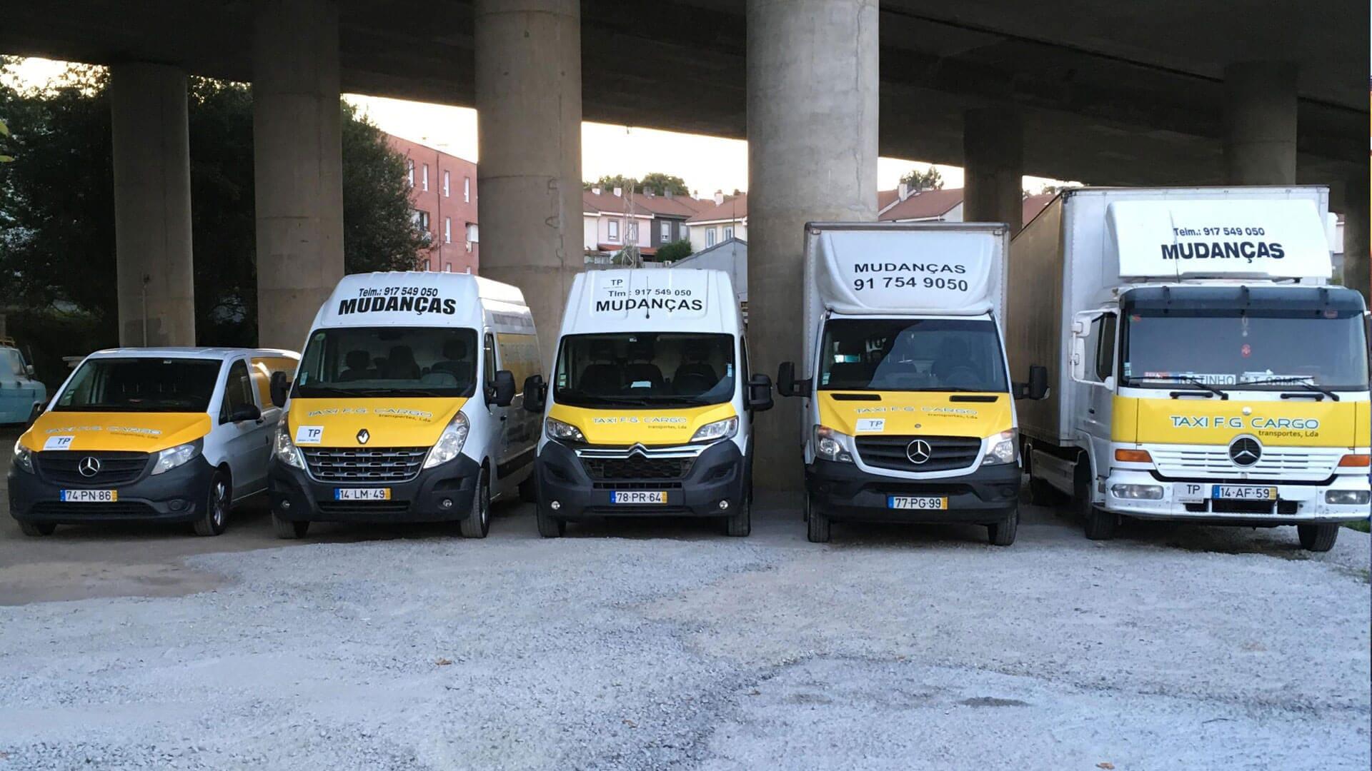 Viaturas Taxi F. G. Cargo