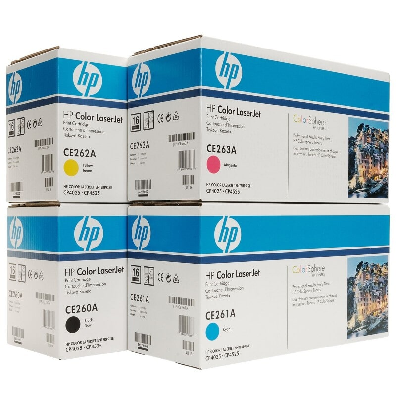 Toner HP CE260A Series