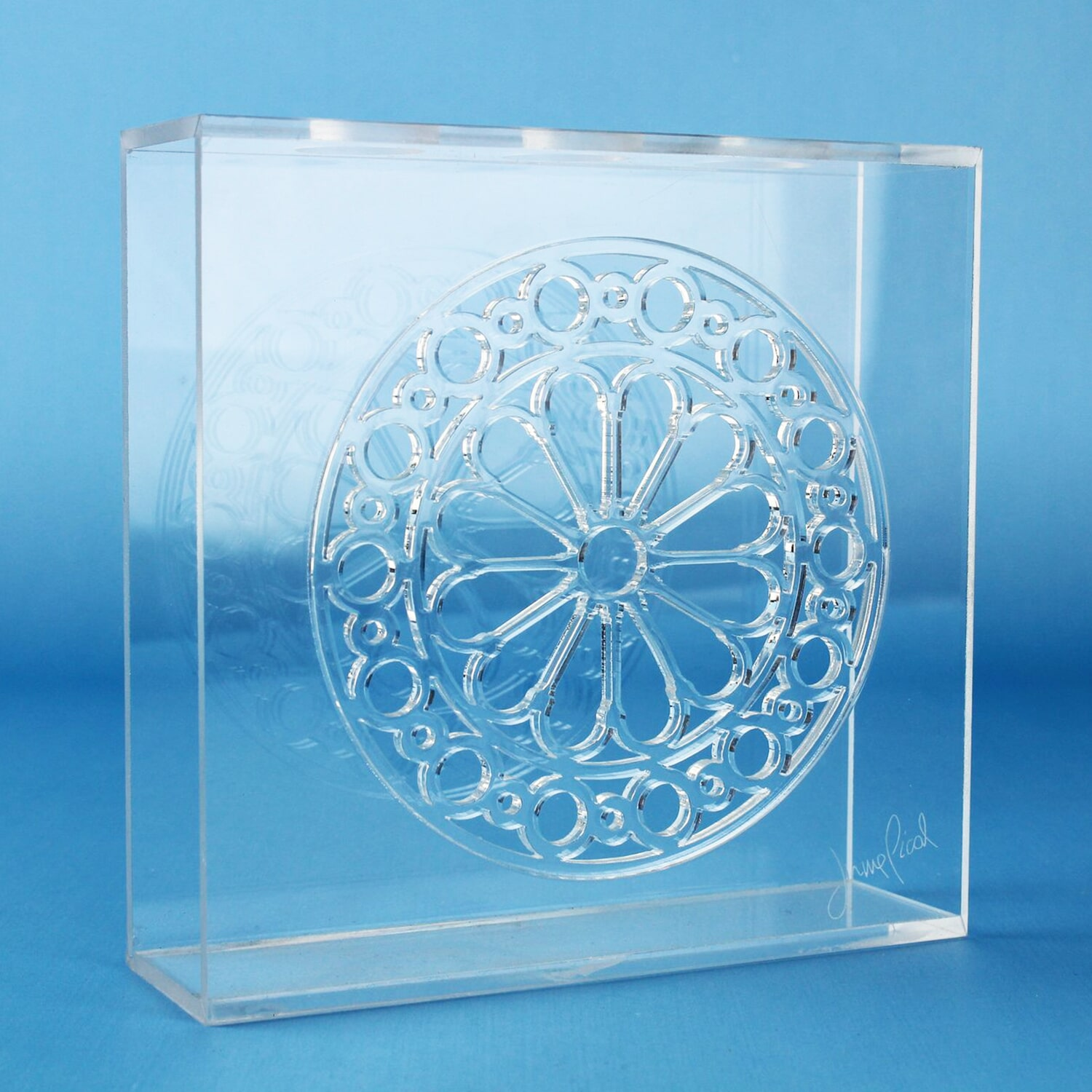 trofeo in plexiglass