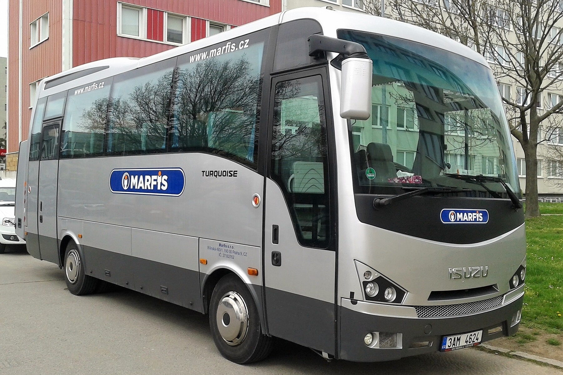 Vermietung von Kleinbussen und Autobussen Prag