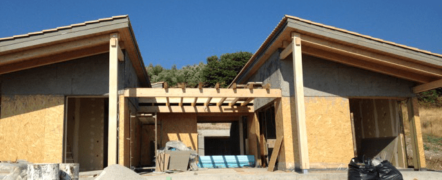 Timber Frame Construction - Green and Energy efficient Homes Canadian homes®