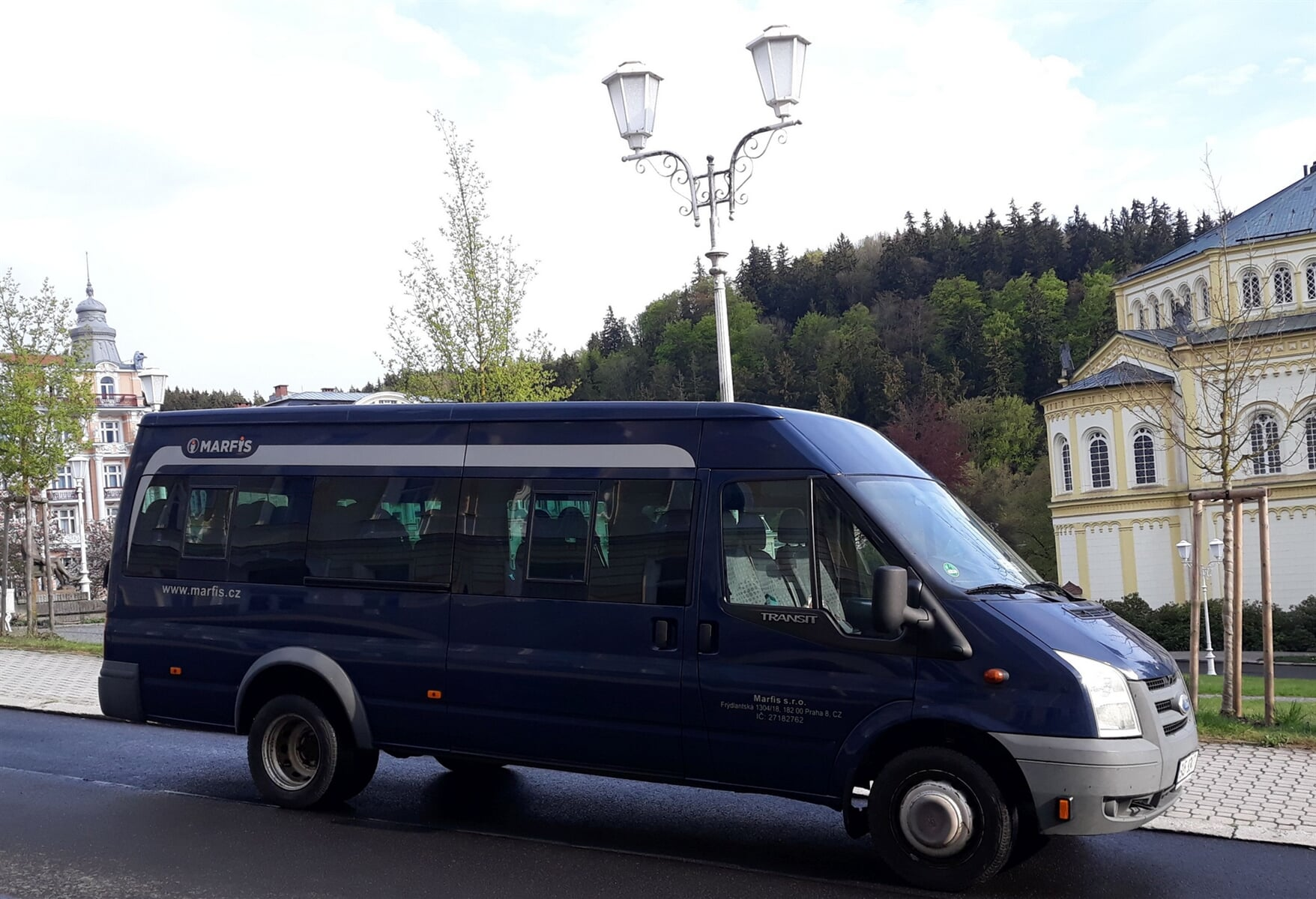 Ford Transit - Mini-bus and coach hire in Prague