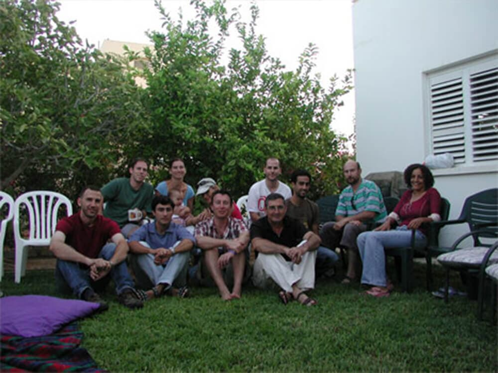 Students reunion, Sede-Boker 2005