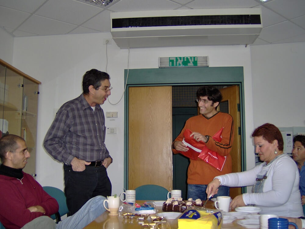 Farewell party for Yevgeny, November 2006 4