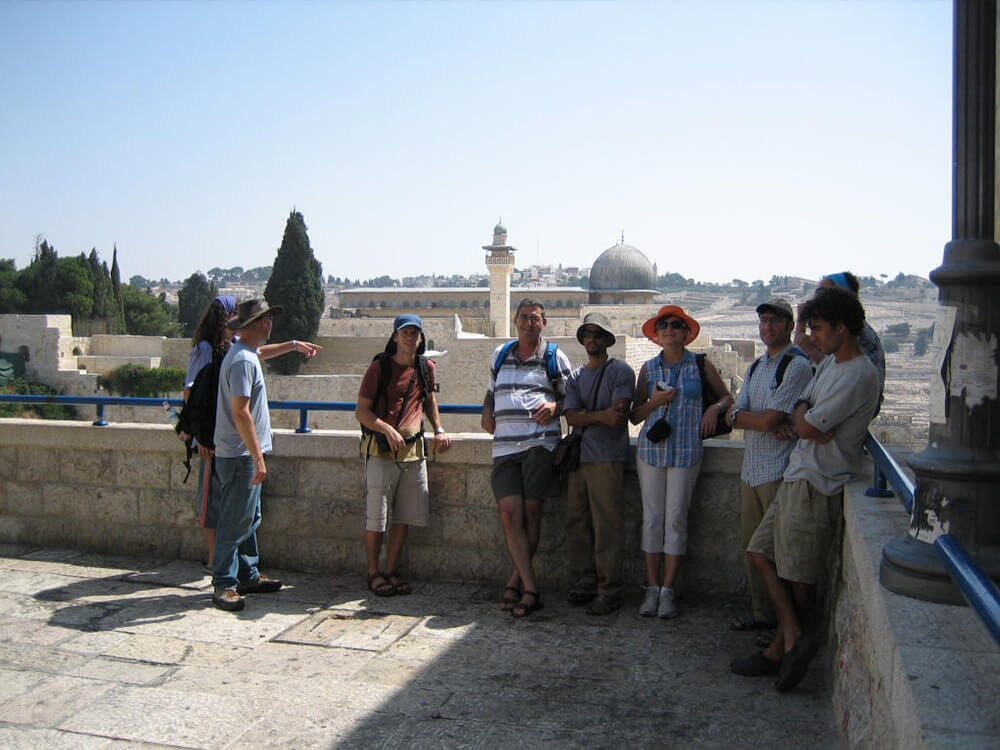 Student reunion trip, the Old City, Jerusalem, 2006 1