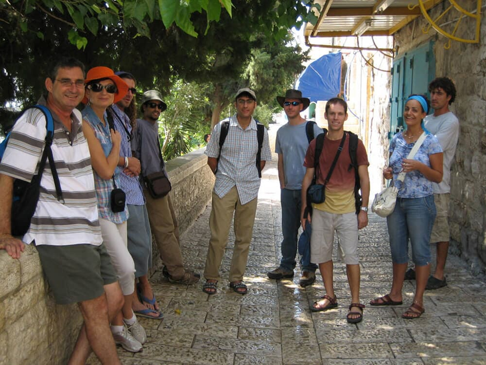 Student reunion trip, the Old City, Jerusalem, 2006 2
