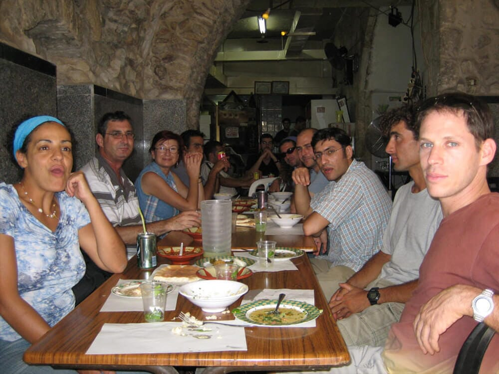 Student reunion trip, the Old City, Jerusalem, 2006 3