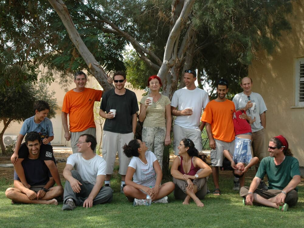 Students reunion trip, Nizzana, 2008 7