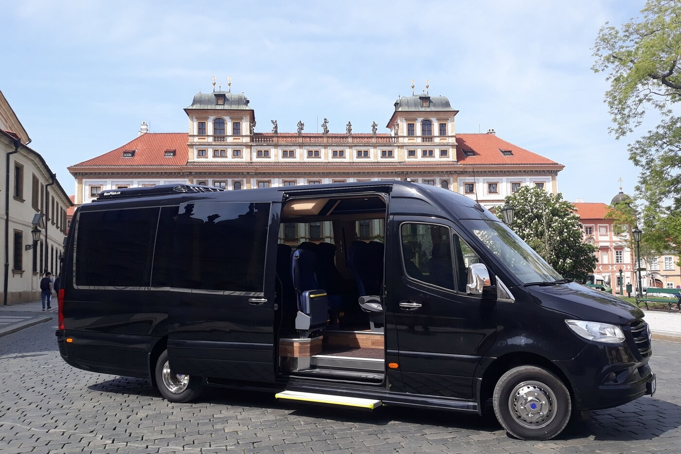 Mini-bus and coach hire in Prague