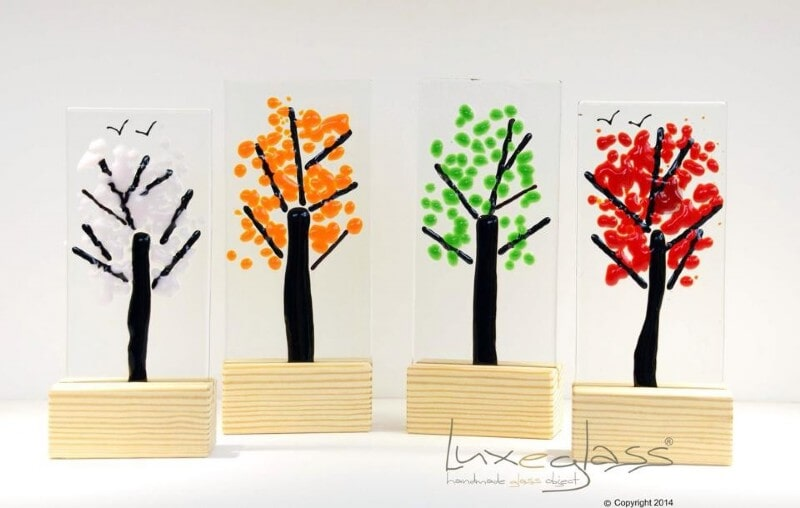 TREES IN WOOD