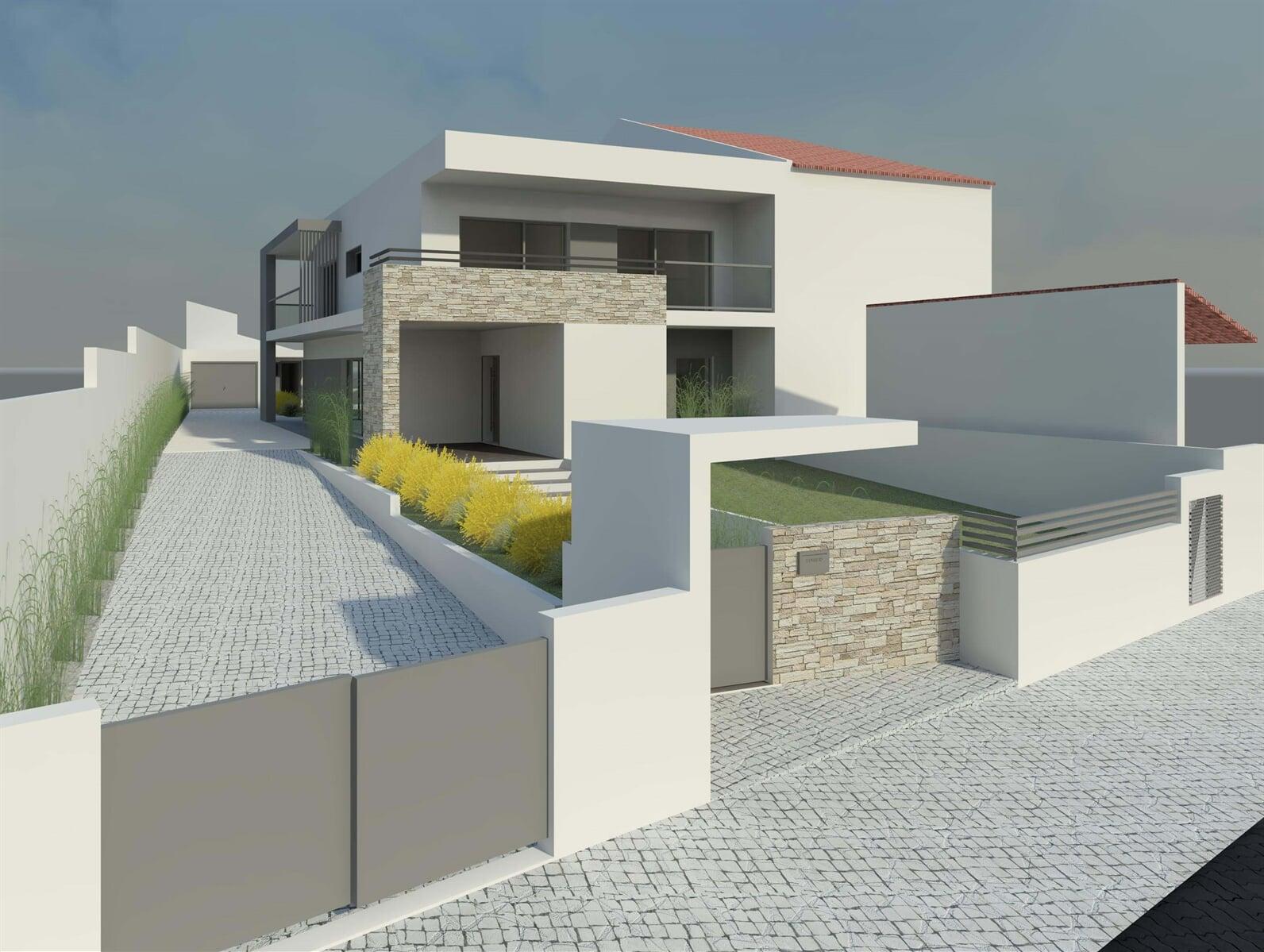 Projectos habitacionais - Carlos Alberto Gomes Arquitectos Projectos de Arquitectura Habitacionais Projetos de Equipamentos e Serviços Carlos Alberto Gomes Arquitectos Associados 13
