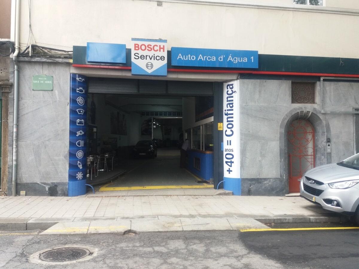 Oficina Automovel Auto arca d'agua Porto
