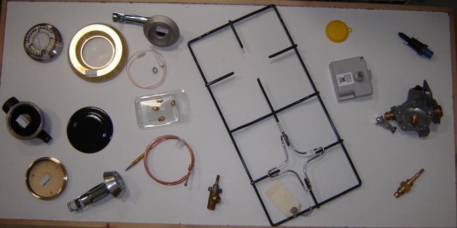 Stove and Water Heater Parts