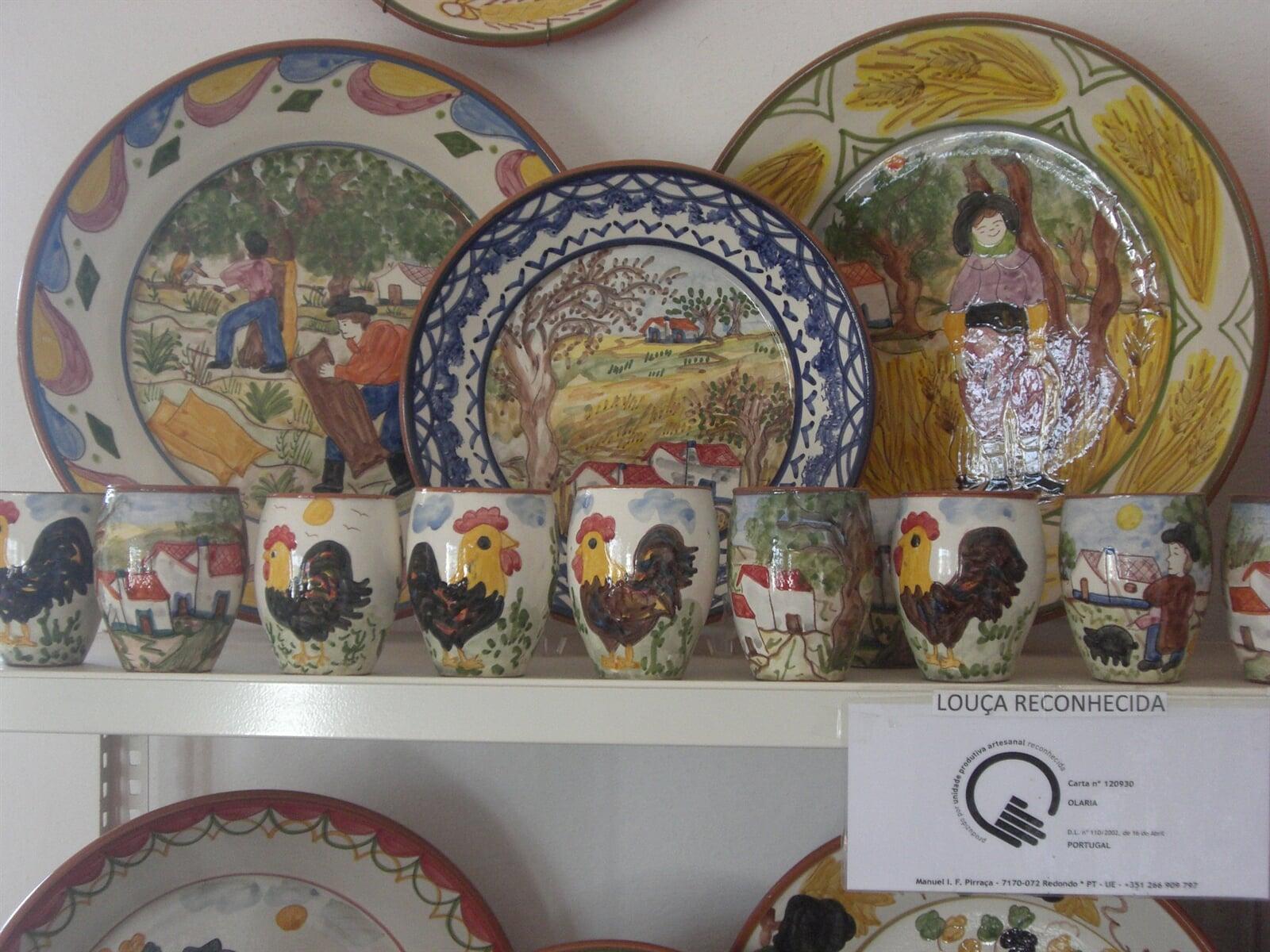 Pirraça Handmade Pottery of Alentejo Portugal