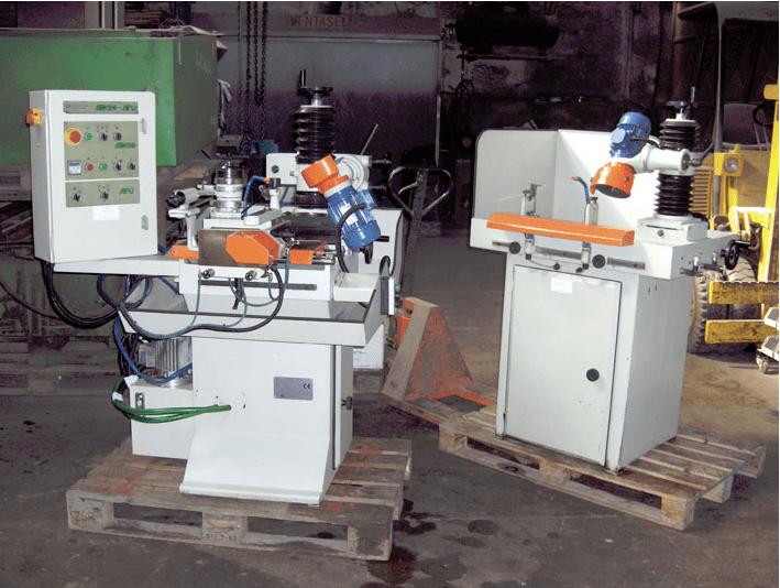 Máquinas Automáticas para Afiar Discos e Frezas