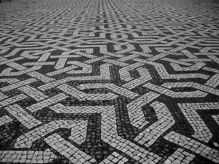 Portuguese Pavement Laying