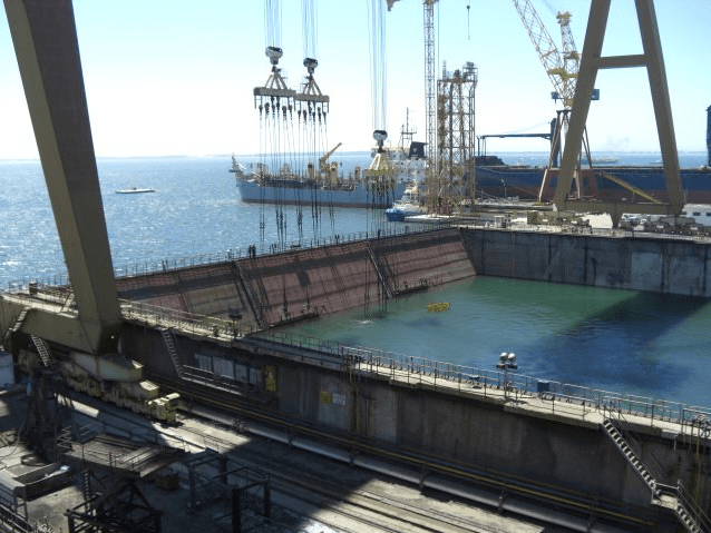 Dry dock Lisnave