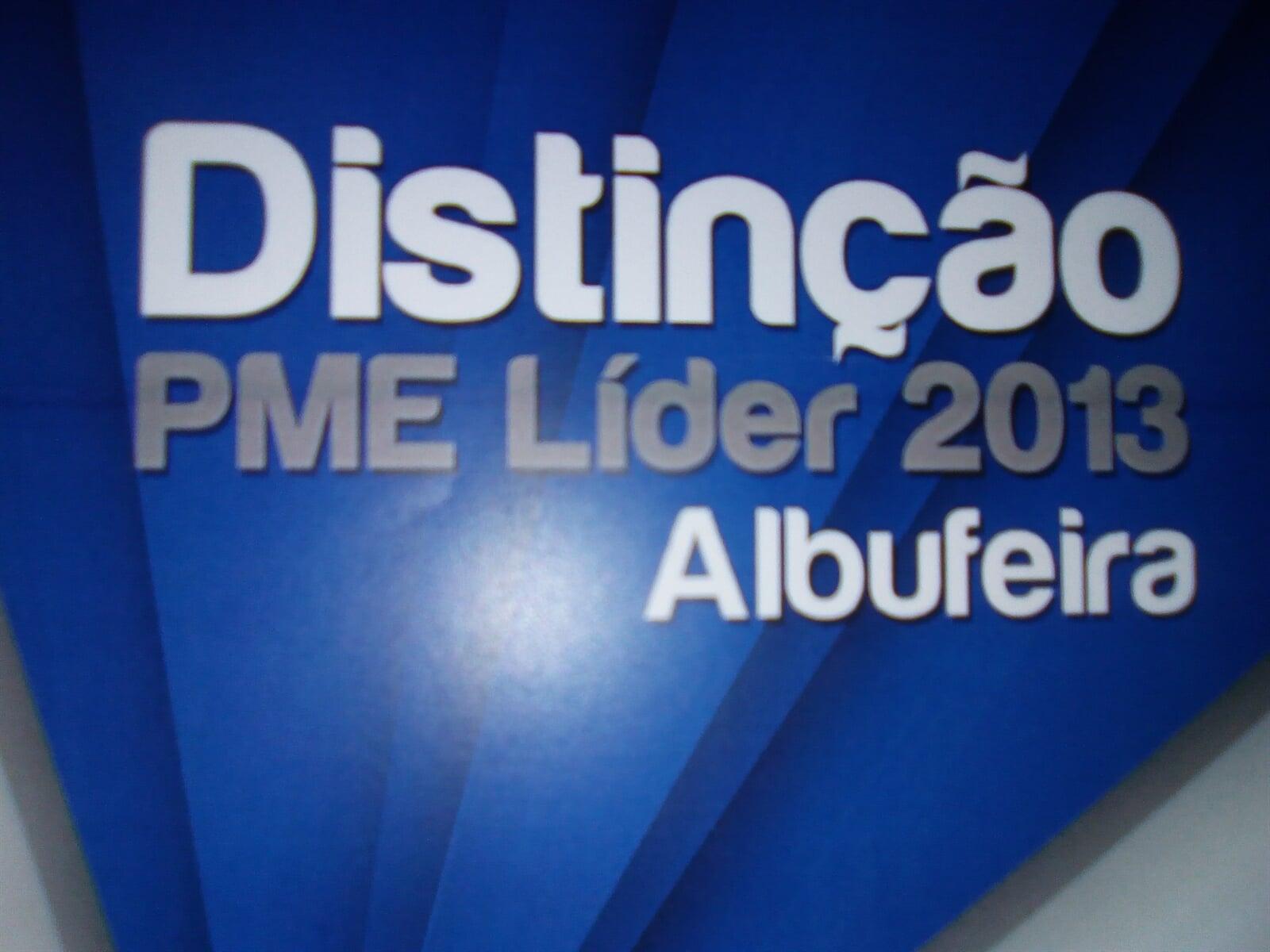 Distinção PME Líder - Albufeira