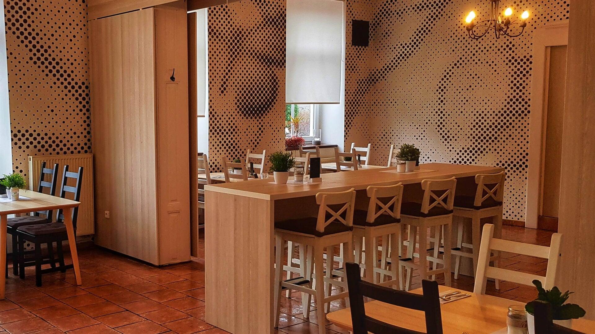 Interiér restaurace U Filipa Svitavy