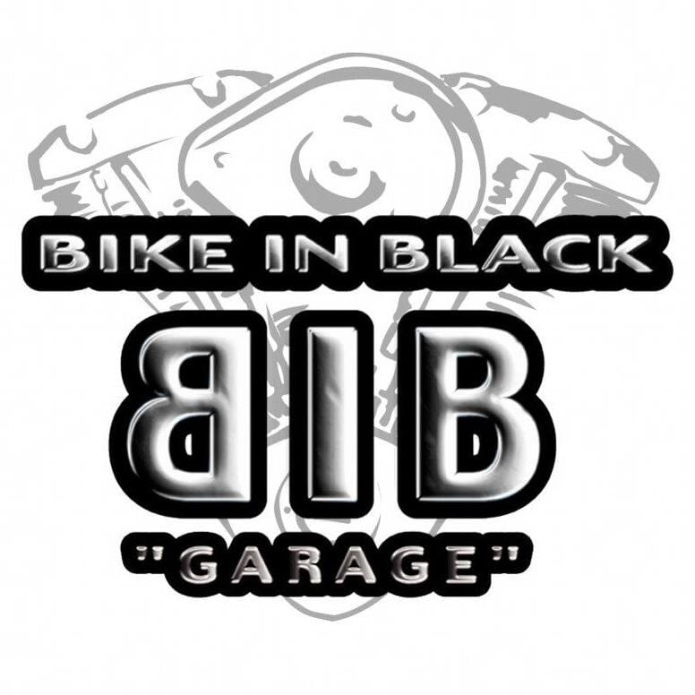 BIKE IN BLACK GARAGE