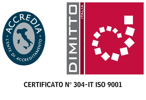 Certificato 304-IT ISO 9001