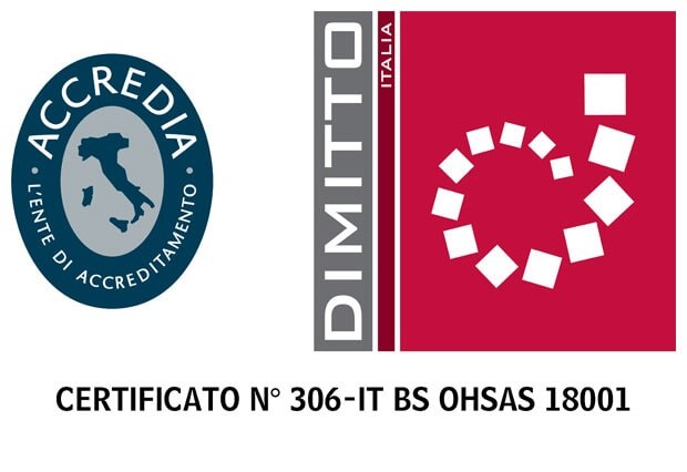 Certificato 306-IT BS OHSAS 18001