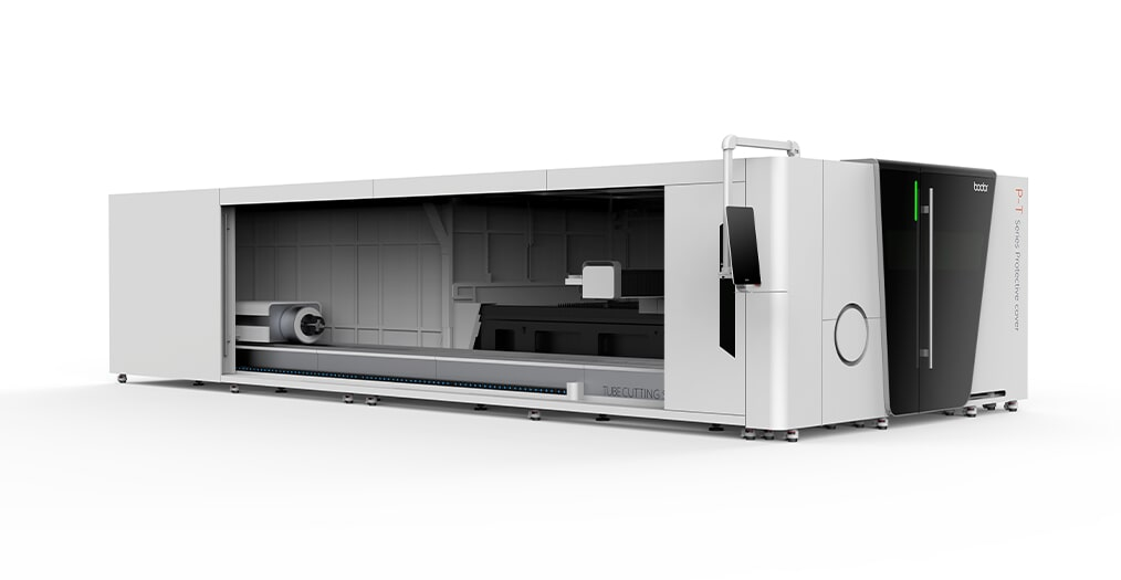 P3015T Sheet & Tube laser cutting machine