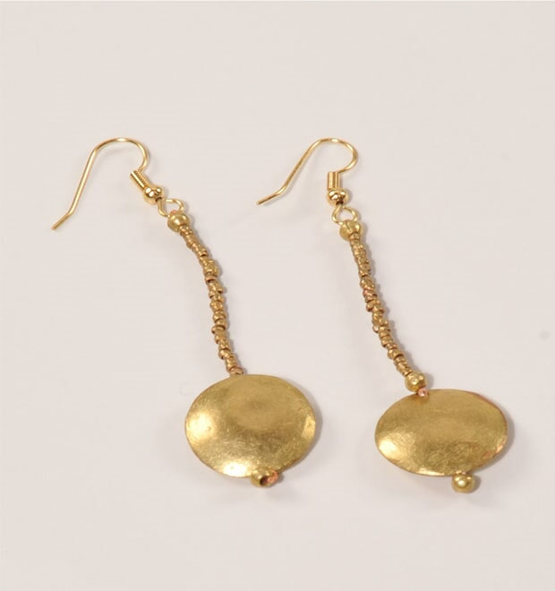 Dish earrings