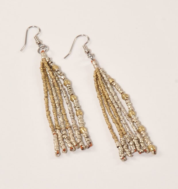 Zeritu Long earrings