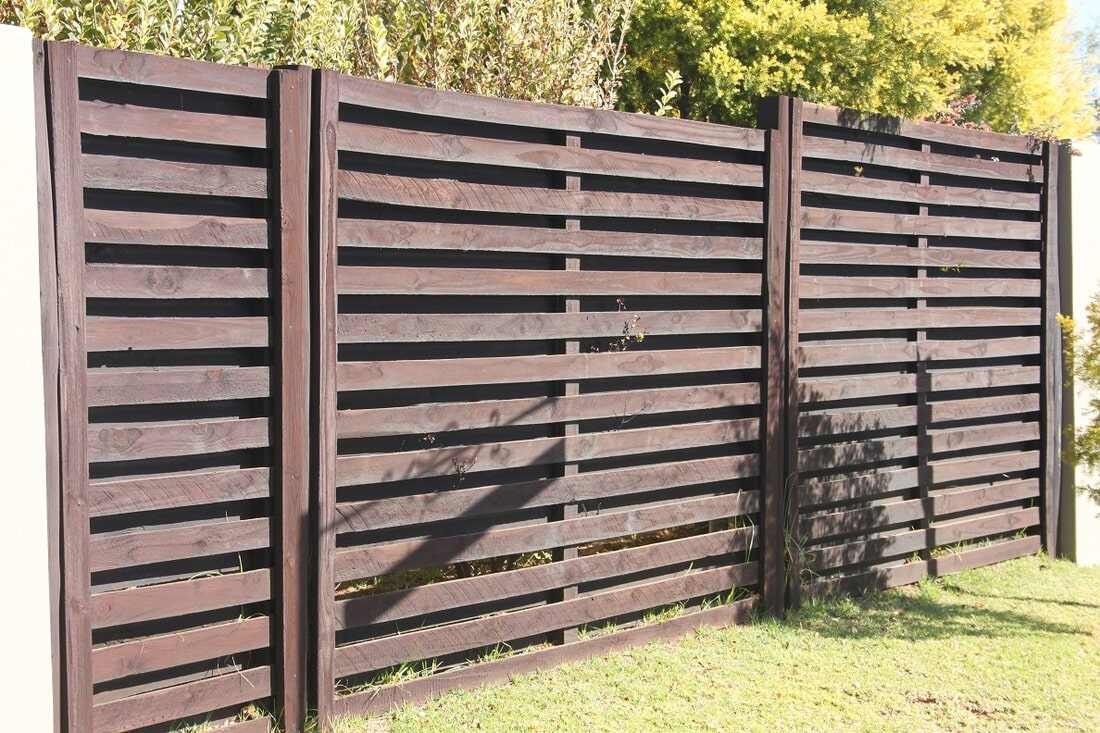 Elite Panel Fencing- Creosote Treated