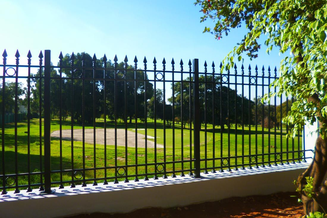 Decorative Palisade Fencing